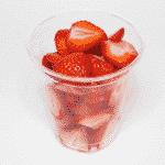 Obstschale Erdbeer